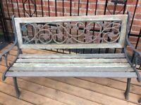 Lovely Pair Of Rose & Vine Cast Iron Garden Benches Can Deliver