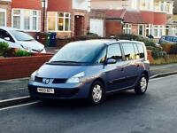 Renault Espace 2.0, 7 Seater, Long Mot, Service History, Super Low Mileage, Reliable 5 Door Car