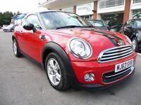 MINI COUPE 1.6 COOPER 2d 120 BHP (red) 2013