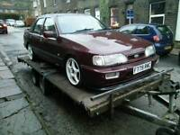 WANTED FORD SIERRA SAPPHIRE RS COSWORTH ESCORT RS TURBO COSSIE COZZY