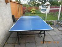 Full size table tennis table for sale