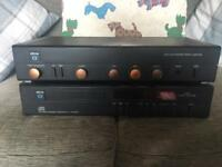 Arcam alpha 3 amplifier and cd player