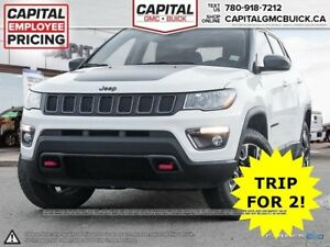 2017 Jeep Compass TRAILHAWK 4WD HEATED SEATS NAV OFF ROAD SHOCKS