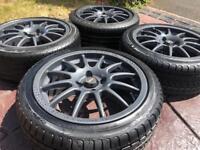"16"" Team Dynamics Pro Race 1.2 BMW Mini Cooper Refurbished Alloy wheel & tyres"