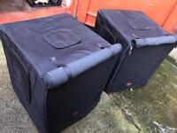 """JBL JRX 118S 18"""" Bass Bins Subwoofer Speakers"""