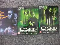 CSI Crime Scene Investigation Box Sets