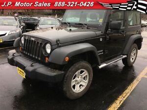 2011 Jeep Wrangler Sport, Manual, Hard Top, 4x4