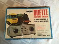 Hammat & Morgan Duette Transformer / Controller to operate Hornby & 12 V model railways (N-Gauge/00)
