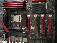 Asus Maximus VI Extreme - LGA1150 - i7 - Open to offers.