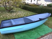 GREAT LITTLE 11ft FIBRE GLASS BOAT LEISURE/RUNABOUT/FISHING READY FOR BOATING