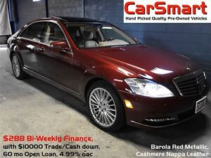 2011 Mercedes-Benz S-Class S550 4Matic, No Accidents, Premium +