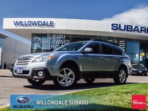 2013 Subaru Outback 2.5i Convenience Pkg Off Lease One Owner,