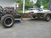 1950 Chevy - 3100 pickup ROLLING CHASSIS (SWB) with powertrain