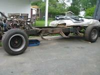 1950 Chevy - 3100 pickup ROLLING CHASSIS with powertrain