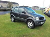 Daihatsu Terios 5 door full years Mot may swap px