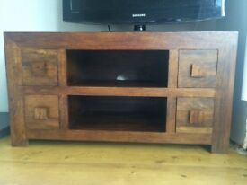 Next - wood tv cabinet
