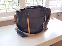 Baby Changing Bag Navy Mirano PacaPod shell, exterior like NEW, rarely used, purchased in 2015