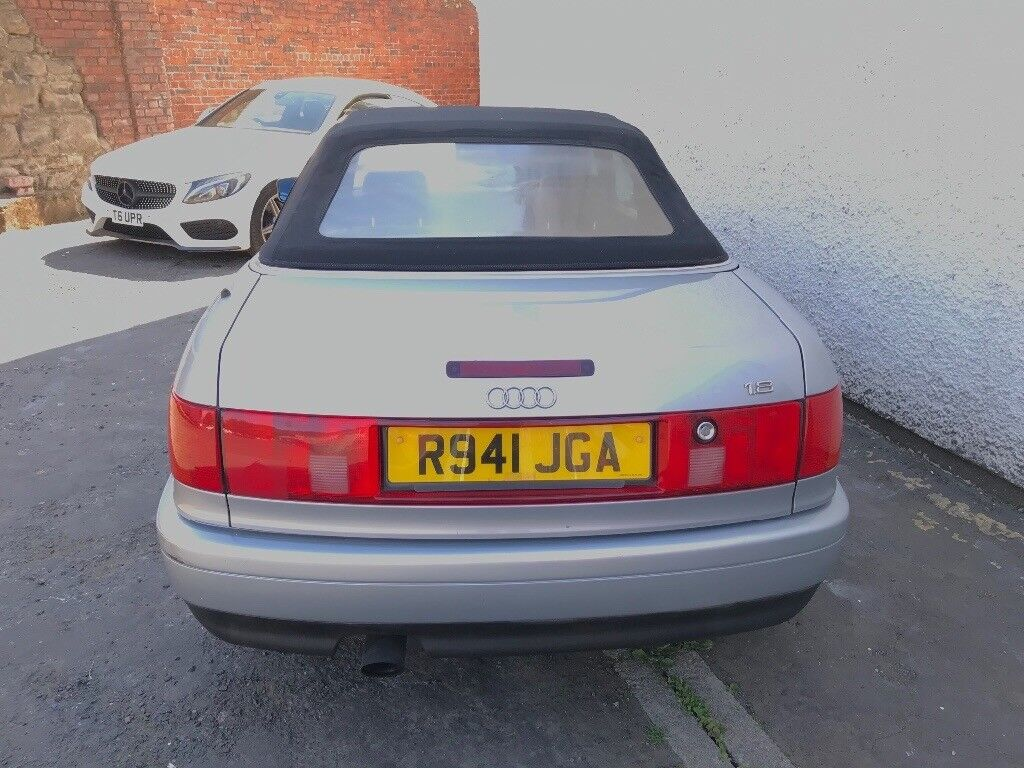 Audi 80 convertible 1998 years mot low mileage leather interior service  history manual gearbox