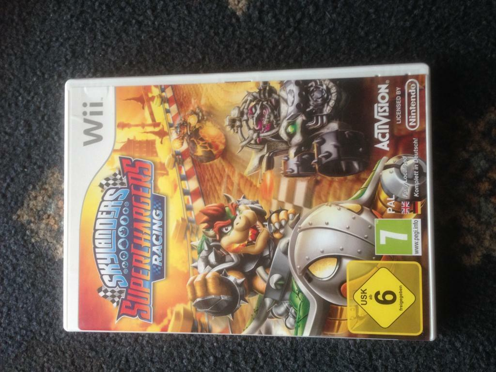 Skylanders giants, trap team and superchargers for the Nintendo Wii