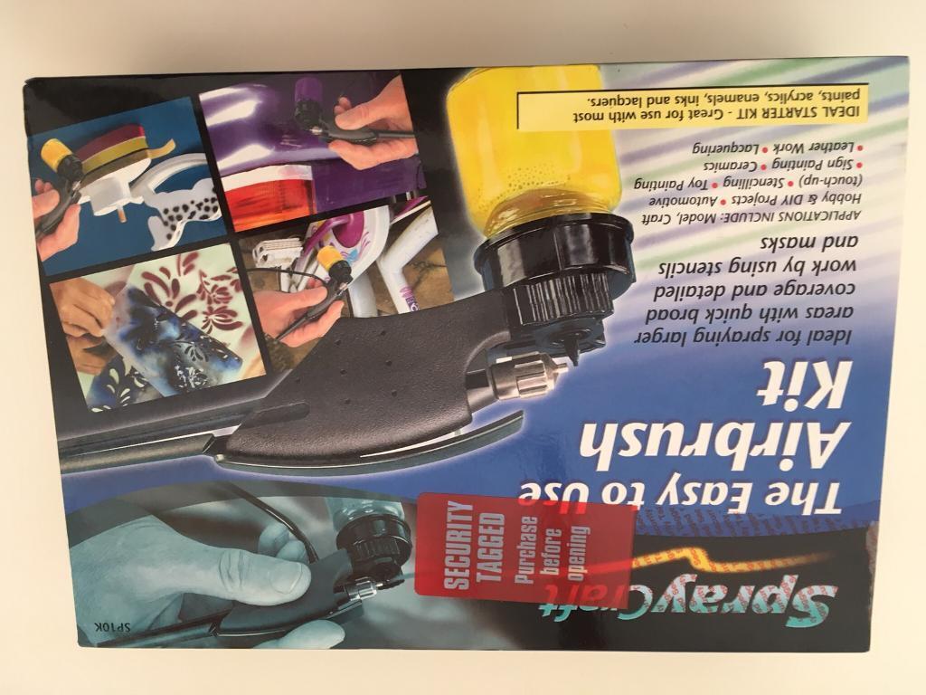 Spraycraft Easy To Use Airbrush Kit SP10K