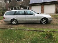 2003 Mercedes e220 cdi, diesel avantgarde ,automatic ,7 seater, long mot.
