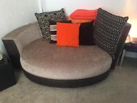 Cuddle sofa's perfect condtition