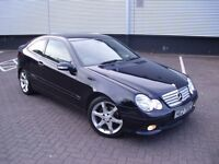 2006 MERCEDES C180 KOMPRESSOR COUPE ~ AMG SPORT EDITION