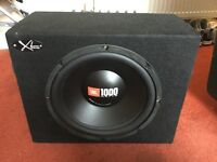 1000watt sub and amp
