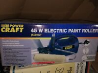 Power Craft 45W Electric Paint Roller foruse with Emulsion or water based paint.