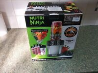 Nutri Ninja BL480UK with Auto IQ 1000W Extraction Blender with 4 Cups