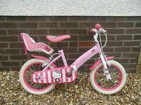 Hello Kitty kids bike.