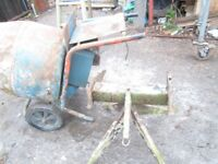 Cement mixer concrete mixer with stand