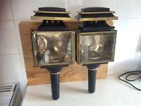 Gray & Davis vintage lamps