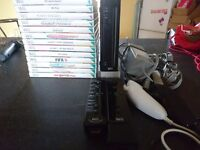 Nintendo wii black bundle with LOTS of games