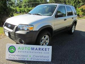 2006 Ford Escape XLT, 4WD, V6, Insp, Warr