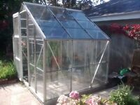 8x6 Greenhouse/100% intact/Dismantled/Can deliver