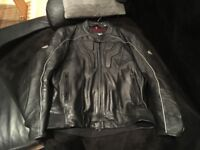 Hein Gericke Motorcycle Leather Jacket Brand New
