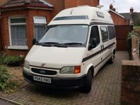 Ford Transit Autosleeper Duetto Camper van, 2.5l Turbo Diesel Including Blow up Drive Away Awning