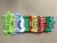 Bundle of 12 tops (some hardly worn) age 18-24 months