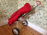 Ping 5 Wood and Wedge with Pinnacle Putter and golf bag , trolley and accessories