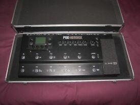 Stagg Hard Case / Pedal Board for Line6 POD HD500X , X3 Live , Digitech , KORG , BOSS , ZOOM