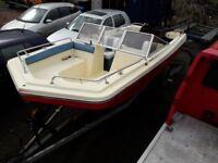 Turbo Diesel Speedboat & Trailer
