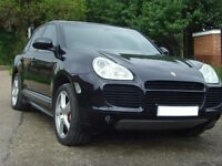Porsche Cayenne 4.5 Turbo Black SUV 5DR Petrol Triptronic S AWD 4WD 450BHP-MINT Ful service History