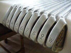 Ping i3 Blade Irons for Sale 2-iron to PW - Fantastic Condition, New Grips