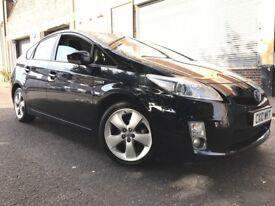 Toyota Prius 2010 1.8 VVT-i Hybrid T4 CVT 5 door AUTOMATIC, F/T/S/H, £10 ROAD TAX, 1 OWNER, BARGAIN