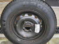 Brand new Vauxhall Corsa Spare Wheel, 13 inch rim, 155/80/13 Tyre.