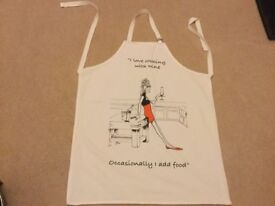Humorous Cooking Apron - Only £1
