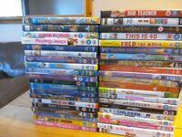 42 assorted dvds films they all comes with boxes and in very good condition