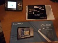 NAVMAN iCN 320 sat nav