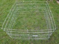 Rabbit or small pet play arena, outdoor play run, ourdoor hutch